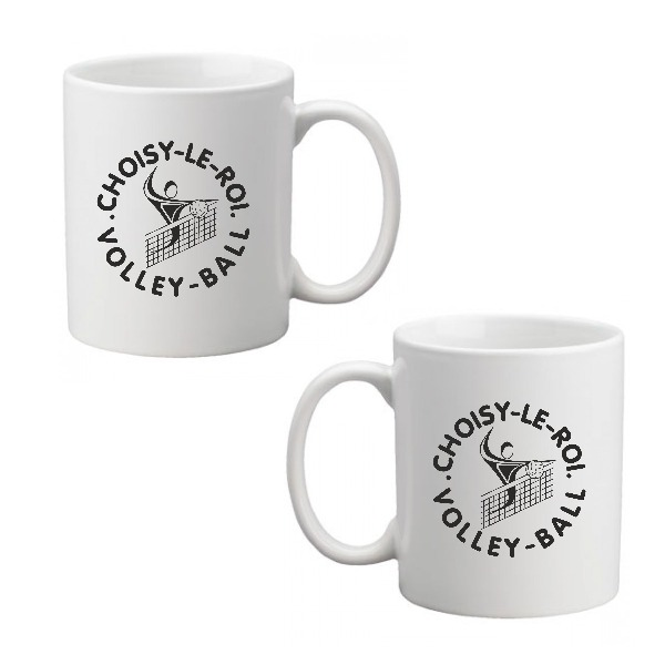 Boutique Volley-Ball - Choisy Mug Céramique Blanc  1