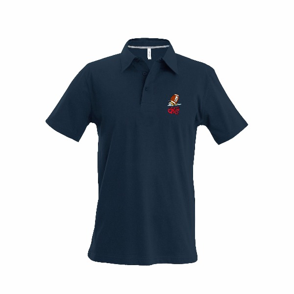 Boutique Rugby - Les Ptits Gris Polo Homme Dark Grey 1