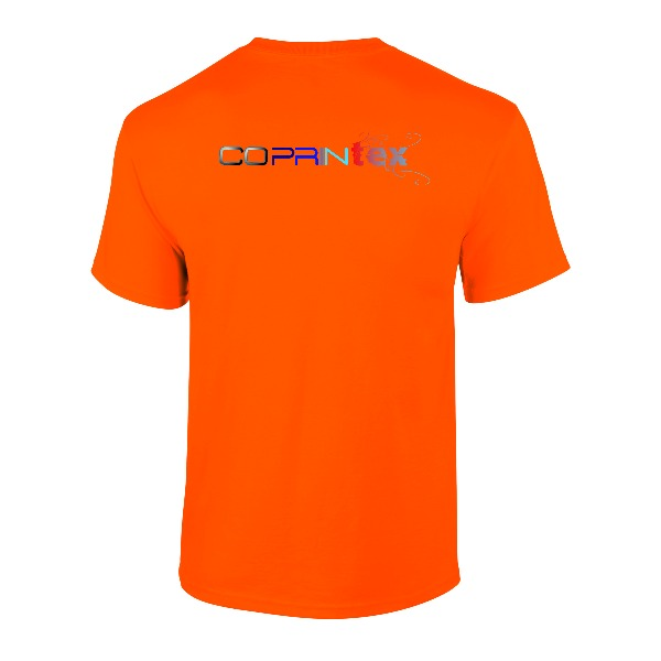 Boutique Démo boutique (démo) Tee-shirt Mixte Orange 2