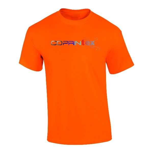 Boutique Démo boutique (démo) Tee-shirt Mixte Orange 1