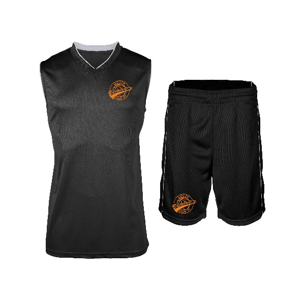 Boutique Basket Ball - Ozoir Basket Club 77 Tenue Basket Enfant Noire 1