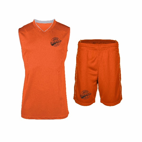 tenue basket enfant orange boutique boutique. Black Bedroom Furniture Sets. Home Design Ideas
