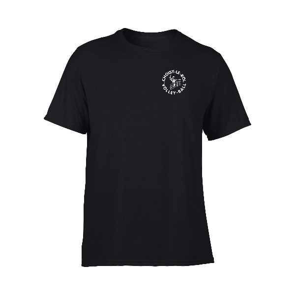Boutique Volley-Ball - Choisy Tee-shirt Homme Noir 1